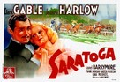 Saratoga - French Movie Poster (xs thumbnail)
