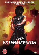 The Exterminator - British Movie Cover (xs thumbnail)