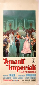 Kronprinz Rudolfs letzte Liebe - Italian Movie Poster (xs thumbnail)