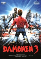Demoni 3 - German DVD movie cover (xs thumbnail)