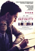 The Man Who Knew Infinity - British Movie Poster (xs thumbnail)