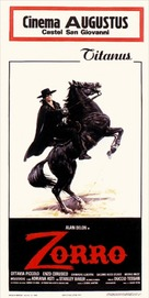 Zorro - Italian Movie Poster (xs thumbnail)