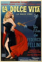 La dolce vita - Argentinian Theatrical movie poster (xs thumbnail)