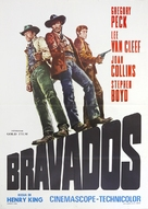 The Bravados - Italian Movie Poster (xs thumbnail)