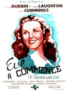 It Started with Eve - French Movie Poster (xs thumbnail)