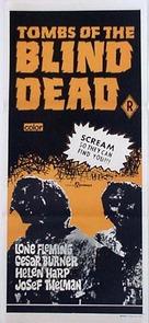 La noche del terror ciego - Australian Movie Poster (xs thumbnail)