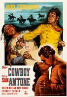 San Antone - German Movie Poster (xs thumbnail)