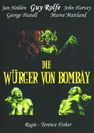 The Stranglers of Bombay - German DVD movie cover (xs thumbnail)