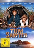 Tom Sawyer - German DVD cover (xs thumbnail)
