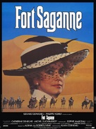 Fort Saganne - French Movie Poster (xs thumbnail)