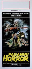 Paganini Horror - Italian Movie Poster (xs thumbnail)