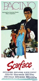Scarface - Australian Movie Poster (xs thumbnail)