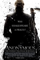 Anonymous - British Movie Poster (xs thumbnail)