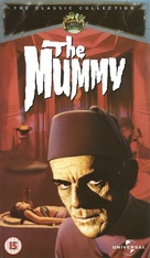 The Mummy - British VHS movie cover (xs thumbnail)