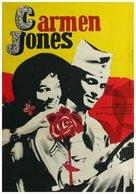 Carmen Jones - Czech Movie Poster (xs thumbnail)