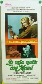 Ma nuit chez Maud - Italian Movie Poster (xs thumbnail)