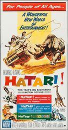 Hatari! - Movie Poster (xs thumbnail)