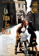 La vita è bella - Spanish Movie Poster (xs thumbnail)