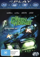 The Green Hornet - Australian Blu-Ray cover (xs thumbnail)