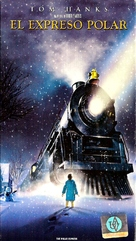 The Polar Express - Argentinian VHS movie cover (xs thumbnail)