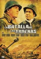 Battle of the Bulge - Spanish Movie Cover (xs thumbnail)