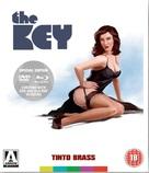 La chiave - British Blu-Ray cover (xs thumbnail)