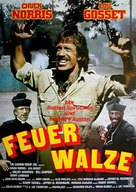 Firewalker - German Movie Poster (xs thumbnail)