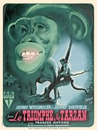 Tarzan Triumphs - French Movie Poster (xs thumbnail)