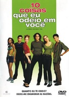10 Things I Hate About You - Brazilian Movie Cover (xs thumbnail)