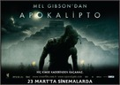 Apocalypto - Turkish Movie Poster (xs thumbnail)