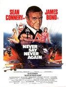 Never Say Never Again - Danish Movie Poster (xs thumbnail)
