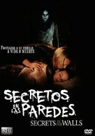 Secrets in the Walls - Spanish DVD movie cover (xs thumbnail)