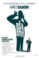 The Informant - Brazilian Movie Poster (xs thumbnail)