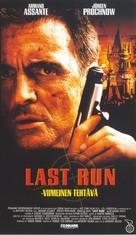 Last Run - Finnish VHS movie cover (xs thumbnail)