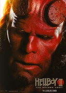 Hellboy II: The Golden Army - Italian Movie Poster (xs thumbnail)