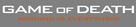 Game of Death - Logo (xs thumbnail)
