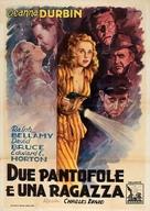 Lady on a Train - Italian Movie Poster (xs thumbnail)