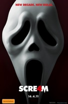 Scream 4 - Australian Movie Poster (xs thumbnail)