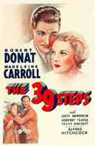 The 39 Steps - Re-release movie poster (xs thumbnail)