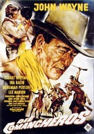 The Comancheros - German Movie Poster (xs thumbnail)