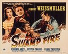 Swamp Fire - Theatrical movie poster (xs thumbnail)