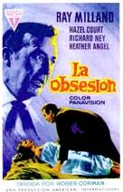 Premature Burial - Spanish Movie Poster (xs thumbnail)