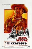 The Cowboys - Belgian Movie Poster (xs thumbnail)