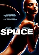 Splice - DVD movie cover (xs thumbnail)
