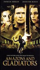 Amazons and Gladiators - VHS cover (xs thumbnail)