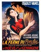 La ferme du pendu - Belgian Movie Poster (xs thumbnail)