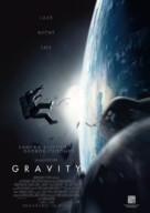 Gravity - German Movie Poster (xs thumbnail)