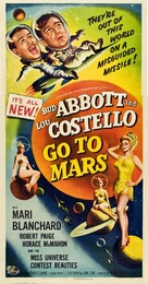 Abbott and Costello Go to Mars - Movie Poster (xs thumbnail)