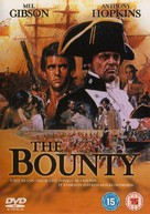 The Bounty - British DVD movie cover (xs thumbnail)