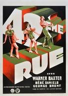 42nd Street - Belgian Movie Poster (xs thumbnail)